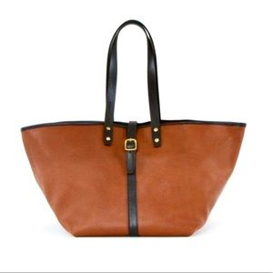 Creatures of Comfort Leather Market Tote- $799
